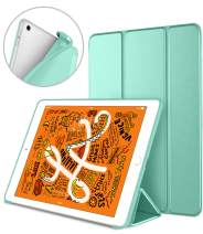 DTTO iPad Mini 5th Generation 2019 Case, [Gentle Series] Smart Cover Trifold Stand Soft Back Cover for iPad Mini 5th Gen 2019/iPad Mini 4 2015 [Auto Sleep/Wake], Mint Green