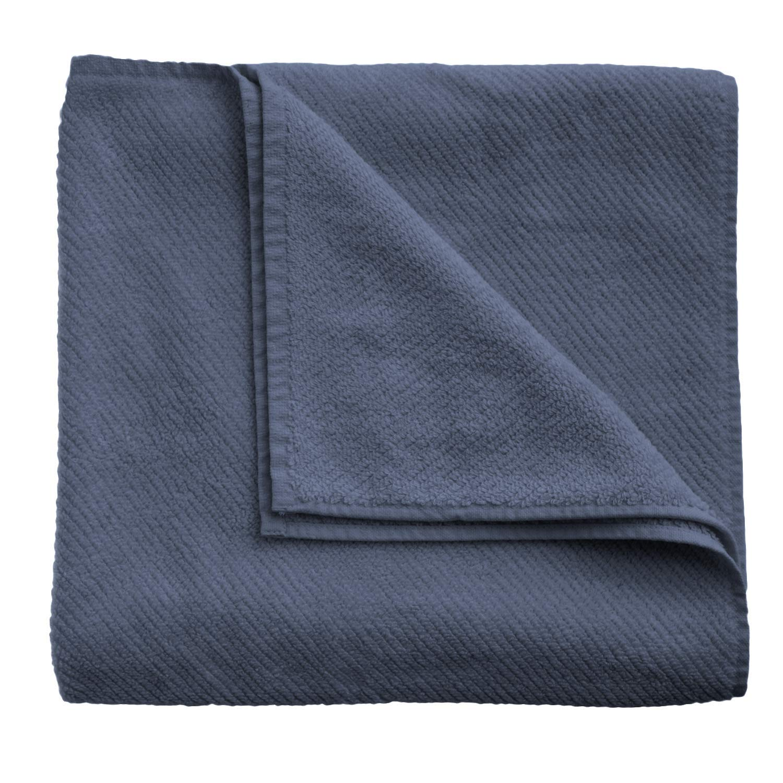 """Coyuchi Air Weight Organic Bath Towel, 27""""x54"""", French Blue"""