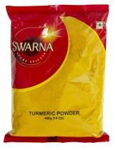 Swarna Pure Spices Turmeric Haldi Powder, 14oz (56oz (3.5lbs))