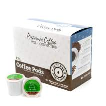 Grounds 4 Compassion Brazil Cerrado Medium Roast Coffee, Single Serve K-Cup Coffee Pods, Compatible with Keurig K-Cup Brewers 24 Pack