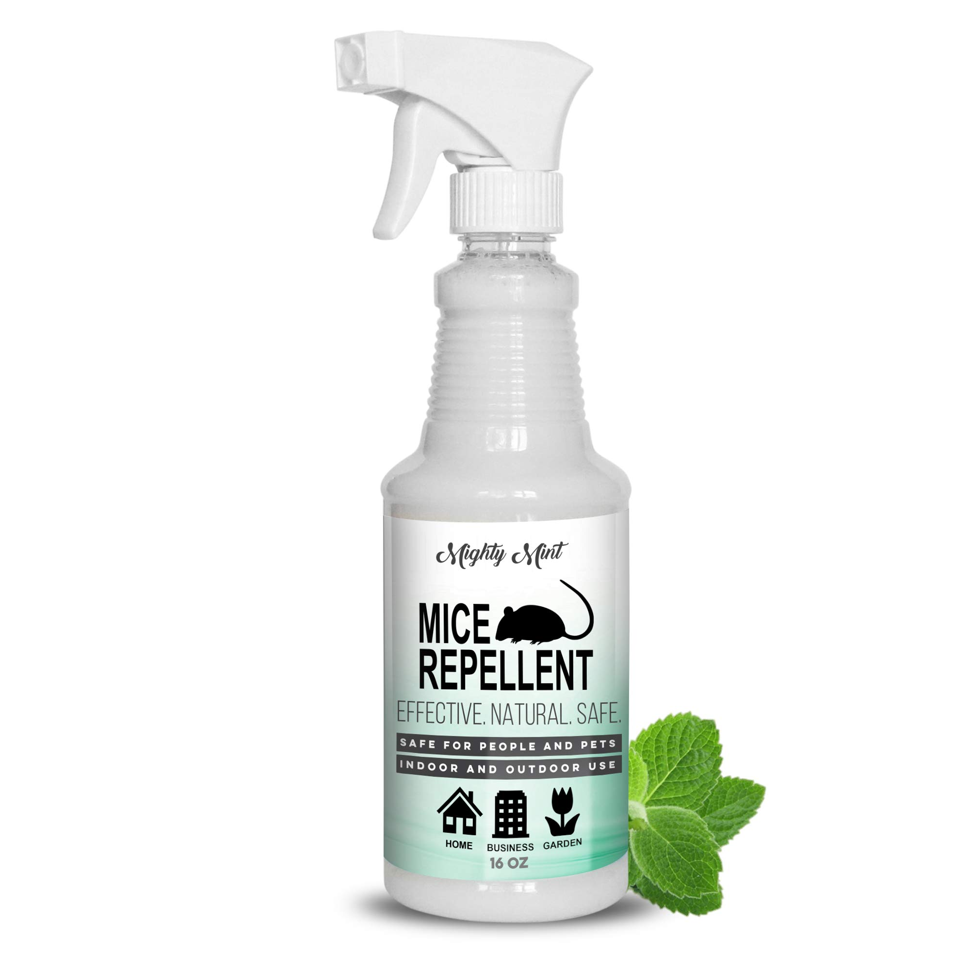 Mighty Mint - 16oz Mice Repellent Peppermint Oil - Non Toxic