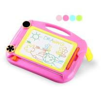 SLHFPX Magnetic Doodle Board for Little Girls Birthday Gifts,Drawing Board Toddler Toys for 1-2 Year Old Girls Magnadoodle Board Learning Toys