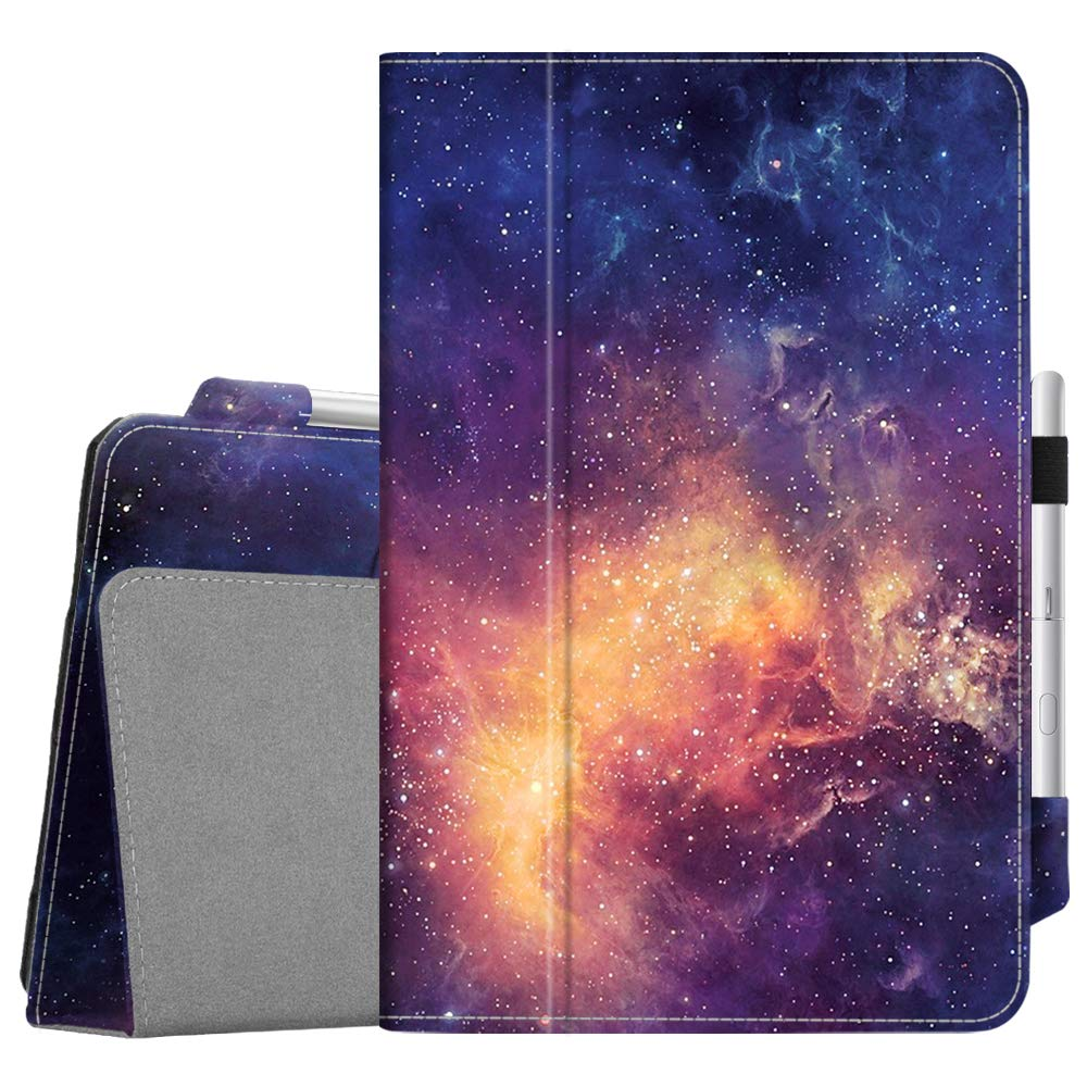 Fintie Folio Case for Samsung Galaxy Tab S4 10.5 2018 Model SM-T830/T835/T837, [Corner Protection] Premium Vegan Leather Stand Cover with S Pen Protective Holder Auto Sleep/Wake, Galaxy