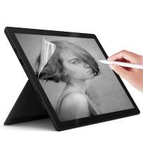 Junfire Paperfeel Screen Protector for Microsoft Surface Pro 7 Plus / Pro 7 (2019) / Pro 6 (2018) / Pro 5 (2017) / Pro 4 (2015), Anti Glare Matte Screen Film for Surface Pro 12.3 Inch, Compatible with Pencil Drawing Artist