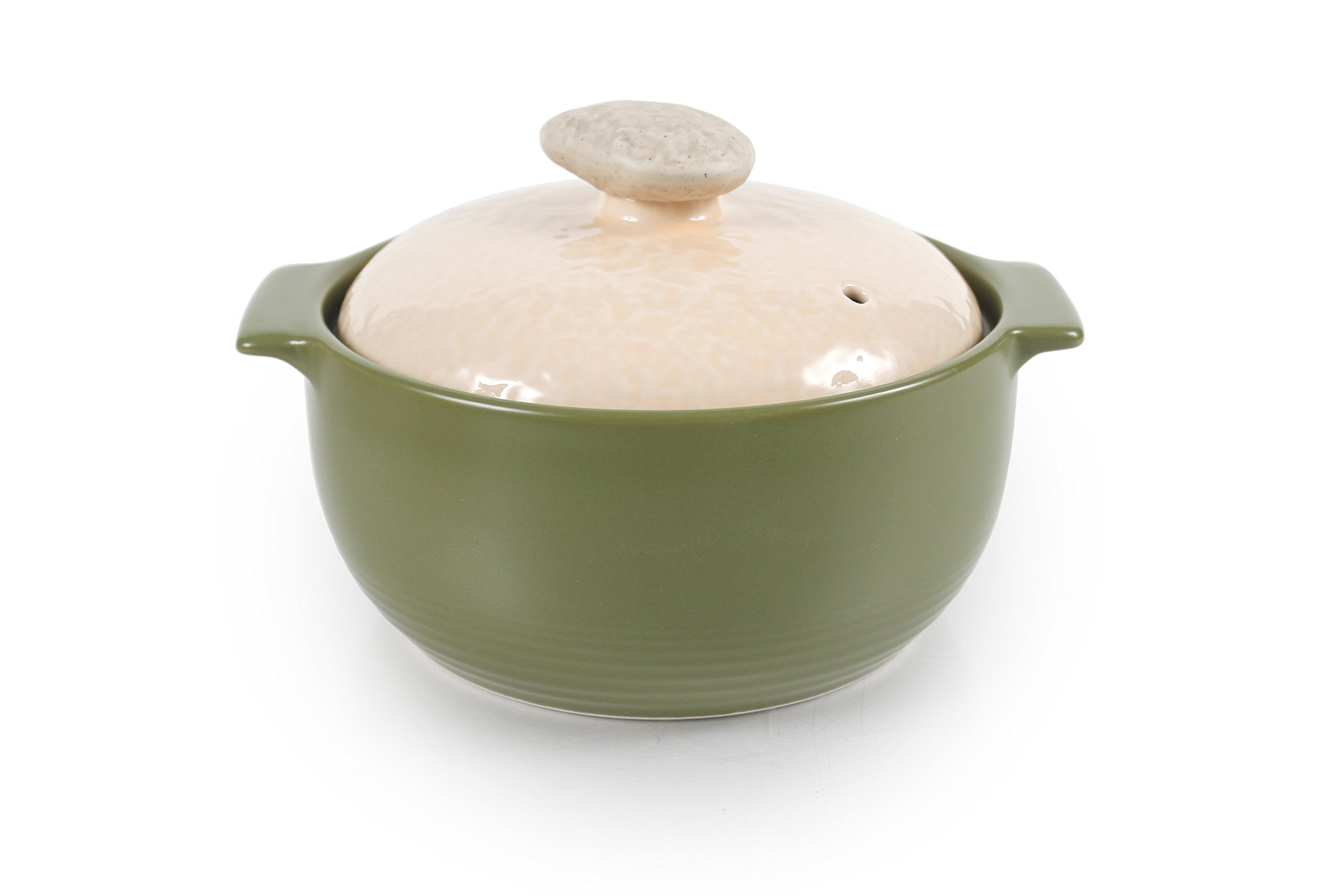 Neoflam Kiesel 1QT Stovetop Ceramic Cookware, Lime Green
