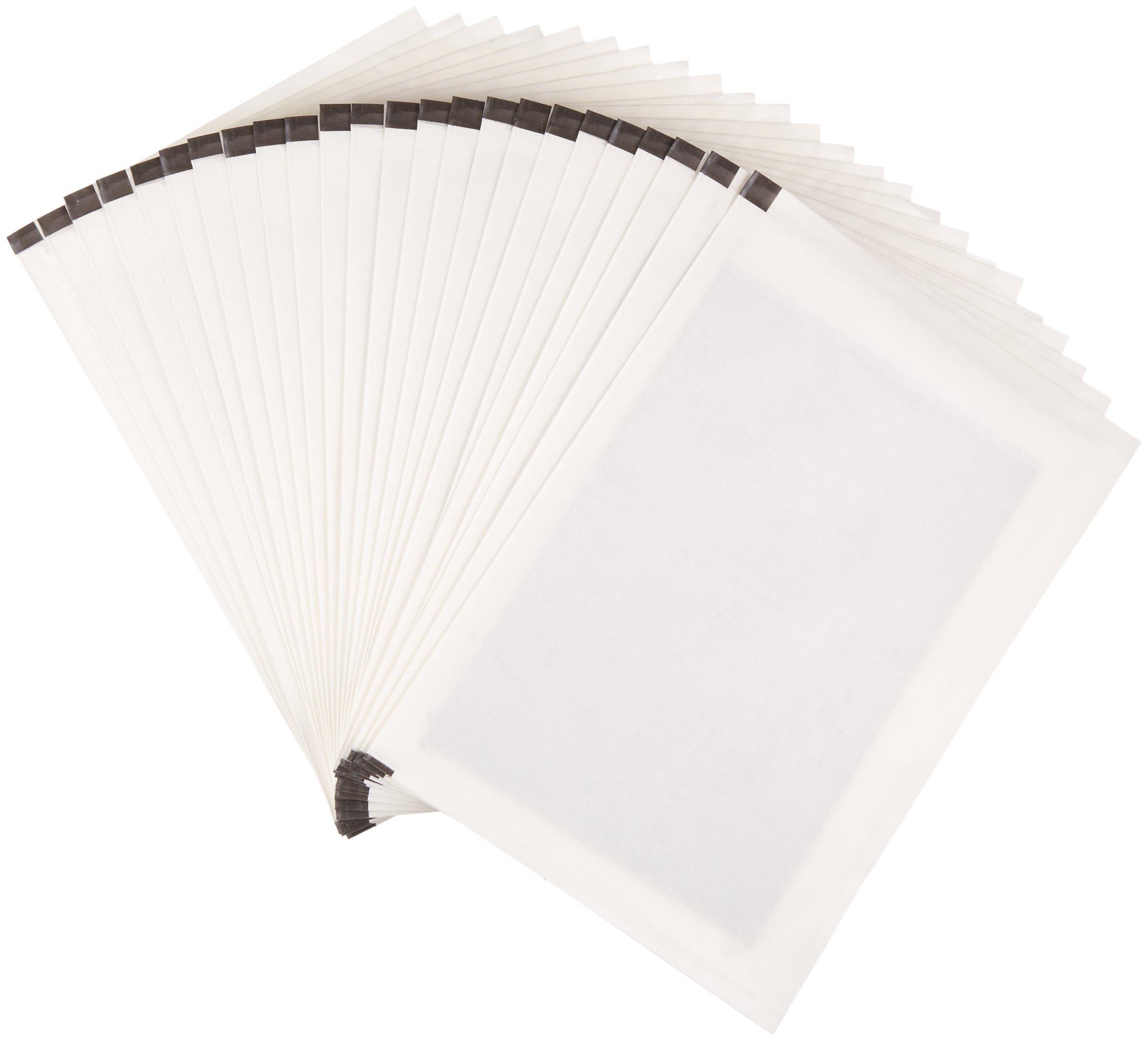 AmazonBasics Paper Shredder Sharpening & Lubricant Sheets - Pack of 24