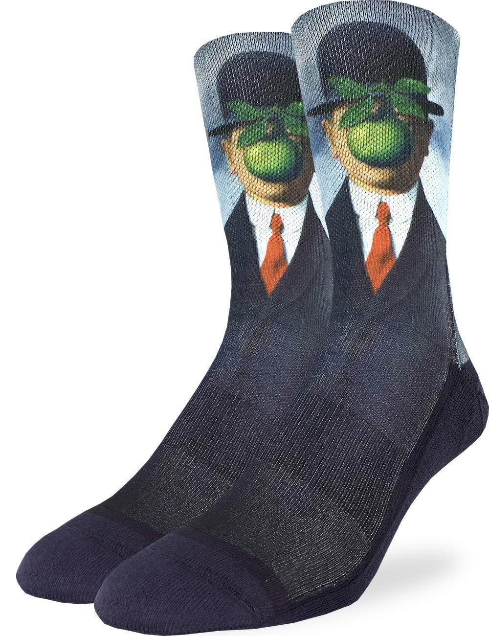 Good Luck Sock Men's The Son of Man Socks - Black, Adult Shoe Size 8-13