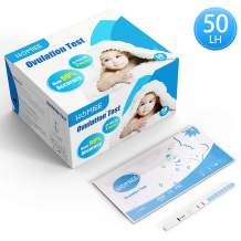 HOMIEE Ovulation Test Strips Kit, Individually-Sealed with Desiccant for Storage, Pack of 50