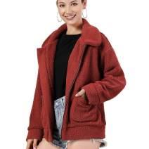 AS ROSE RICH Jackets for Women - Fleece Jacket Women - Womens Jacket