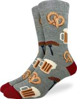 Good Luck Sock Men's Extra Large Oktoberfest Socks, Size 13-17, Big & Tall