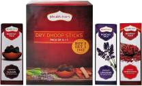 Shubhkart Dry Dhoop Sticks (Pack of 3+1) Sandalwood, Lavender, Guggal