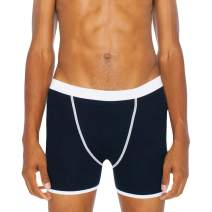 American Apparel Men's Baby Rib Boxer Brief