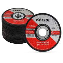 """KSEIBI 50 Pack 646004 Angle Grinder Cut Off Wheels for Cutting Metal Stainless Steel 4-1/2""""x0.040""""x7/8"""" Type 41 Ultra Thin Disc"""