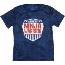 American Ninja Warrior Kids Camo Short Sleeve Performance T-Shirt