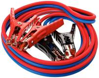 Super Heavy Duty 500 amp 6 gauge No Tangle Dual Construction Battery Booster Jumper Cables-Large for Cars Trucks Vehicles Automobiles((500 Amp 6 Gauge 12 Feet) & Travel Carry Bag