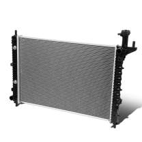 13007 OE Style Aluminum Core Cooling Radiator Replacement for GMC Acadia Chevy Traverse V6 07-17