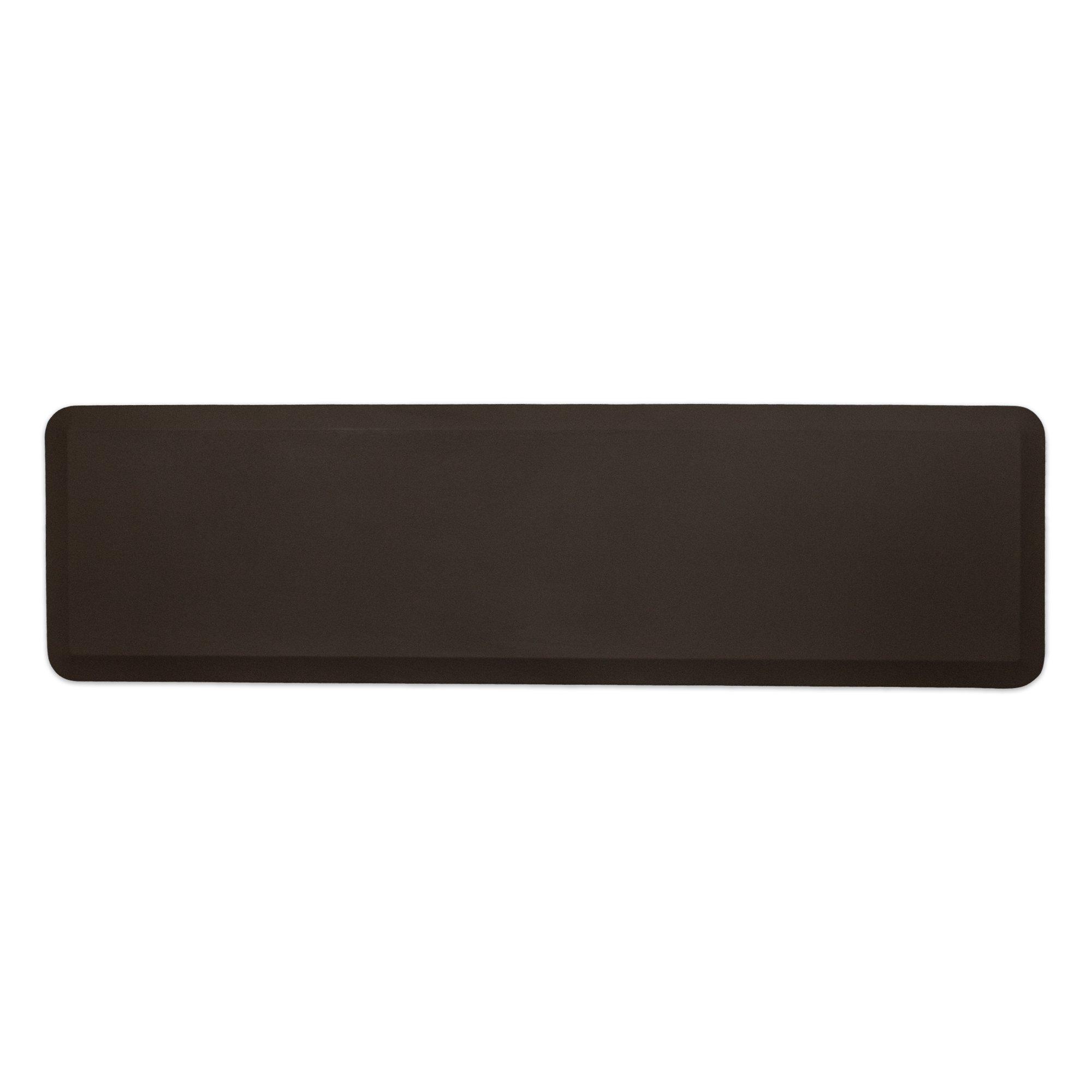 "NewLife by GelPro Professional Grade Anti-Fatigue Kitchen & Office Comfort Mat, 20x72, Earth ¾"" Bio-Foam Mat with non-slip bottom for health & wellness"