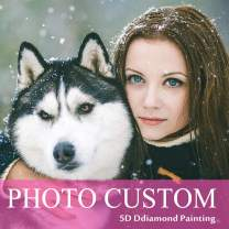 Custom Diamond Painting Kits Full Drill for Adults,Personalized Photo Customized Diamond Painting,Private Custom Your Own Picture (Square Drill, 15.8x15.8inch/40x40cm)