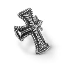 American West Sterling Silver Cross Bold Ring Size 5 to 10