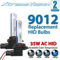 Xtremevision AC HID Xenon Replacement Bulbs - 9012 4300K - Bright Daylight (1 Pair)