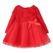 Sooxiwood Baby Girls Dress Flower Party Christmas