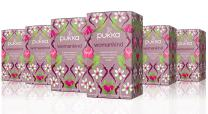 Pukka Womankind, Organic Herbal Tea with Shatavari, Cranberry & Rose Flower (6 Pack, 120 Tea Bags)