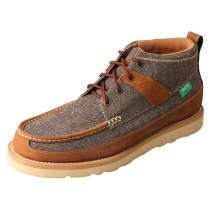 """Twisted X Men's 4"""" Wedge Sole Casual Laced Eco TWX Moc Toe Shoes"""