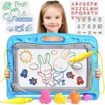 UMIKU Magnetic Drawing Board Kids Large Magna Doodle Board Toddler Toys Gifts for 2 3 4 5 Year Old Girl Boy Toys Erasable Sketching Drawing Pad Early Educational Toys for 2 3 4 Year Old Girl Boy