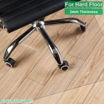 """Henf 36"""" x 48"""" Transparent Chair Mat 1/5 cm Thick Protective Mat for Hard Floor Surface Clear Chair Mat, PVC Matte Home-use Office Protector Chair Mat (90 x 120 x 0.2 cm)"""