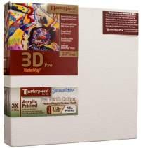 "Masterpiece Artist Canvas 45823 3D PRO 2-1/2"" Deep, 13"" x 21"", Cotton 14.0oz - 3X - Sausalito Heavy Weight"