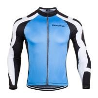 Men's Cycling Jersey Long Sleeve Bicycle Cloth Bike Shirt Cycle Clothing