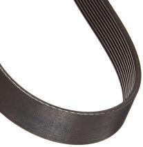 "Gates 260J10 Micro-V Belt, J Section, 260J Size, 26"" Length, 1"" Width, 10 Rib"