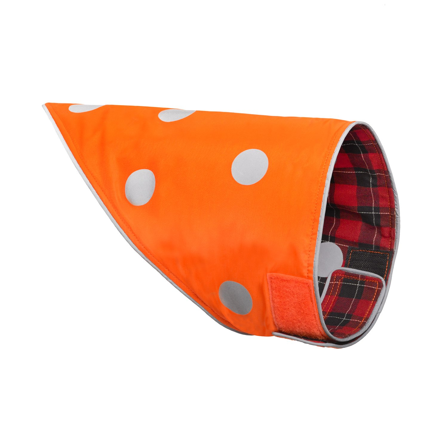 SPOT THE DOG! Easy Fastening Dog Bandana, High Visibility, Reflective, Sizes XXS-XL