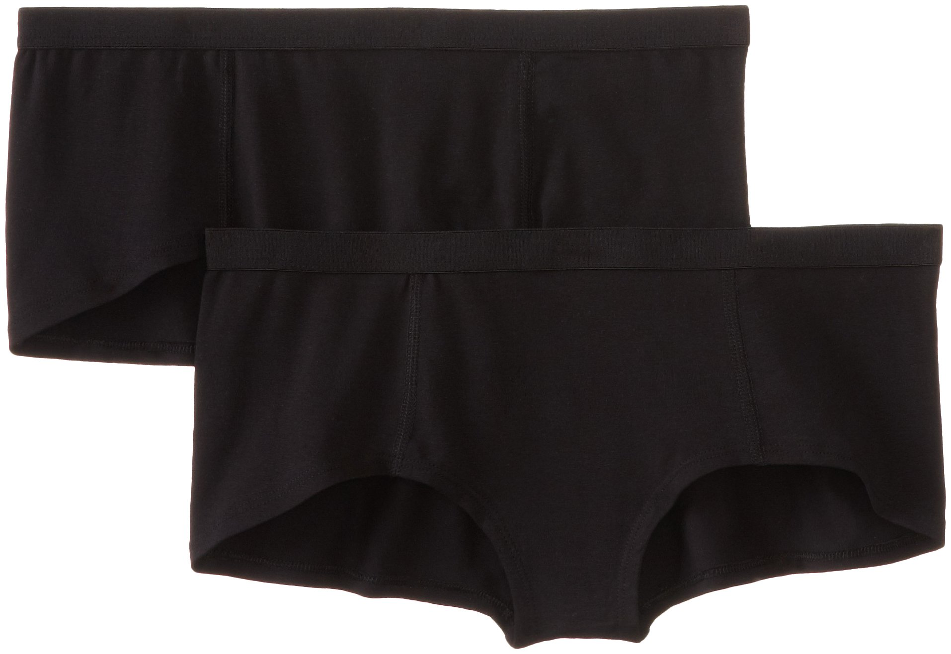Pact Women's 2-Pack Organic Cotton Boyshort Panties