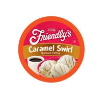 Friendly's Caramel Flavored Coffee Pods for Keurig K Cup Brewers, Caramel Swirl, 40 Count