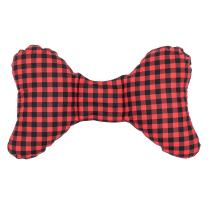 Original Baby Elephant Ears Head Support Pillow for Stroller, Swing, Bouncer, Changing Table, Car Seat, etc. (Buffalo Plaid)