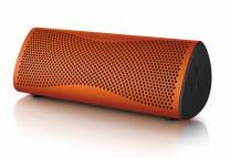 KEF MUO Wireless Bluetooth Speaker - Sunset Orange