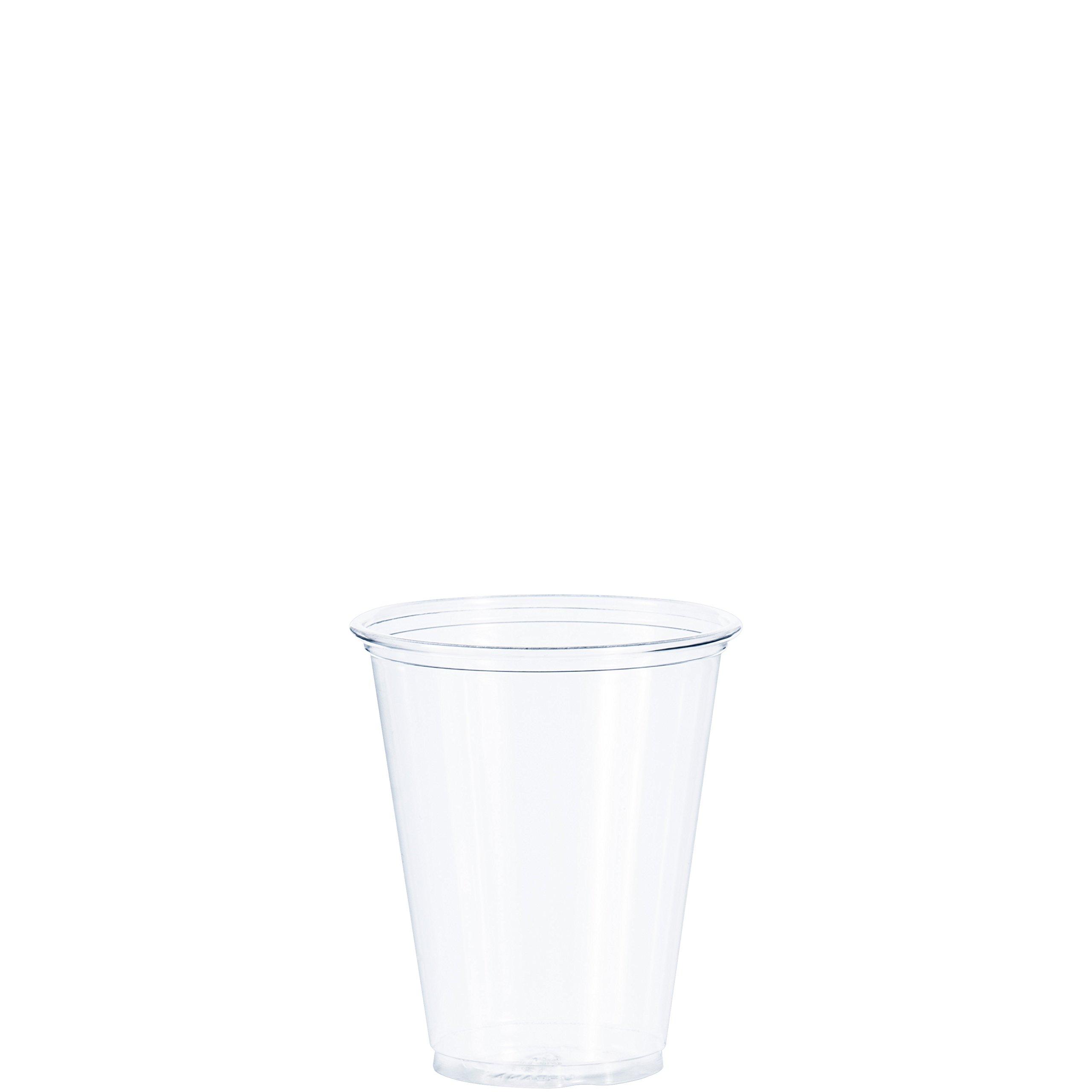 Dart TP7 7 oz Ultra Clear PET Plastic Cup (Case of 1000)