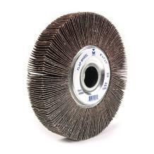"Mercer Industries 368080 Center Hole Aluminum Oxide Flap Wheel, 6"" x 1"" x 1"", Grit 80, Each"
