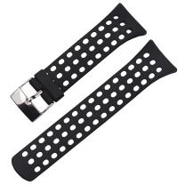 MCXGL Rubber Watch Band Replacement for suunto M-Series M1 M2 M4 M5 Watch Strap