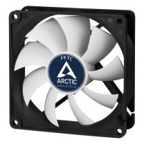 ARCTIC F9 TC - Temperature-Controlled 92 mm Case Fan | Standard Case Cooler | Intelligent Heat Detector regulates RPM | Push- or Pull Configuration