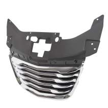 Front Chrome Grille Grill New Aftermarket Fits 2011-2014 Chrysler 200 Sedan Replacement For 68082050AE CH1200353 For Convertible Sedan