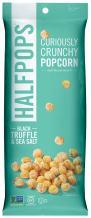 Halfpops Popcorns, Black Truffle and Sea Salt, 4.5 Ounce (Pack of 12)