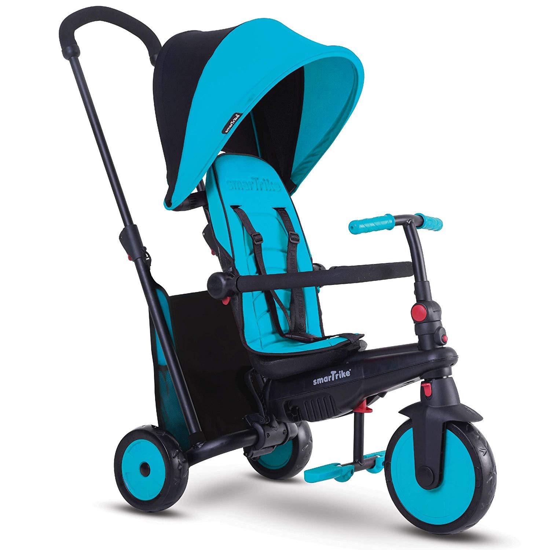 smarTrike smarTfold 300 Folding Baby Tricycle, Blue