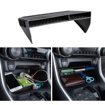 JDMCAR Center Console Organizer Compatible with Toyota RAV4 2021 2020 2019, ABS Material Insert Tray Gear Shift Secondary Storage Box - Upgraded Design