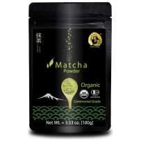 Minister's Morning Matcha green tea powder organic ceremonial 100g