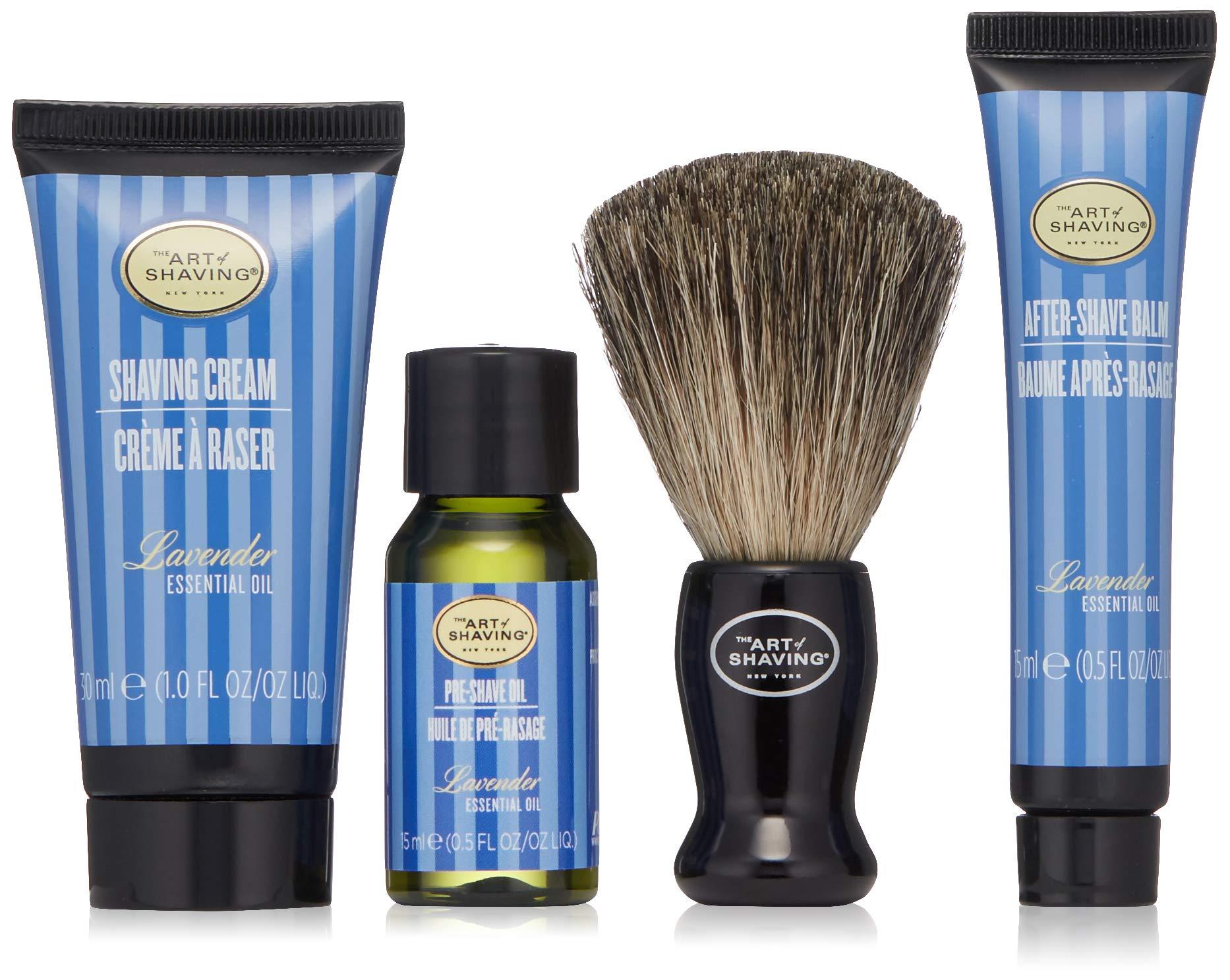 The Art of Shaving 4 Piece Mini Kit, Lavender