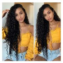 4x4 Lace Closure Wig Water Wave Wig 18 Inch Human Hair Wigs Normal Wig With Lace Closure Glueless Free Part With Baby Hair Same Day Delivery Peruvian Remy Virgin Hair 18 Inch