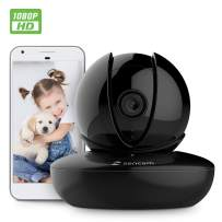Amcrest Zencam 1080P WiFi Camera, Pet Dog Camera, Nanny Cam with Two-Way Audio, Baby Monitor with Cell Phone App, Pan/Tilt Wireless Wi-Fi IP Camera, Micro SD Card, RTSP, Cloud, Night Vision, M2B Black