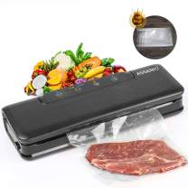 Vacuum Sealer, Automatic Vacuum Air Sealing System For Food Preservation, with Dry & Moist Sealing Modes, LED Indicator Lights, Easy Use, 2020 new Model